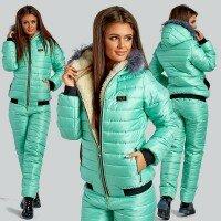 Теплый лыжный костюм на меху